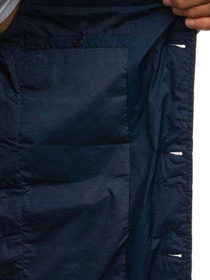 Tmavomodrá pánska prechodná bunda BOLF 392