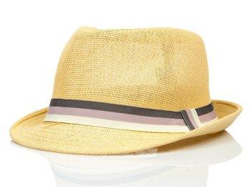 Béžový pánsky klobúk BOLF KAP214