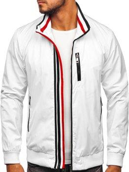 Biela pánska prechodná bunda Bolf Bolf K01