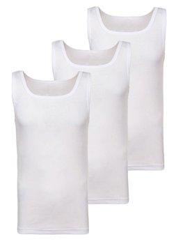 Biele pánske tričko bez potlače BOLF C10049-3P 3 KS