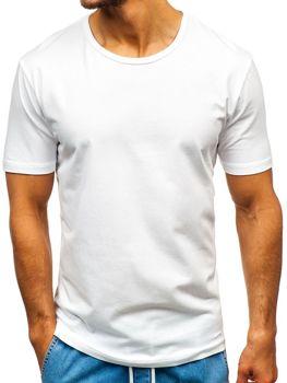 Biele pánske tričko s potlačou BOLF T1042