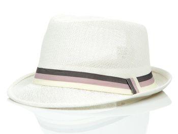 9ee6c7ef6 Biely pánsky klobúk BOLF KAP214