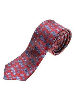 Bordová pánska elegantná kravata BOLF K107