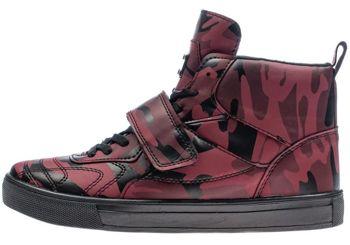 Bordová pánska obuv BOLF 8003