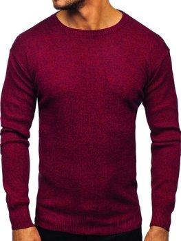 Bordový pánsky sveter Bolf 8529