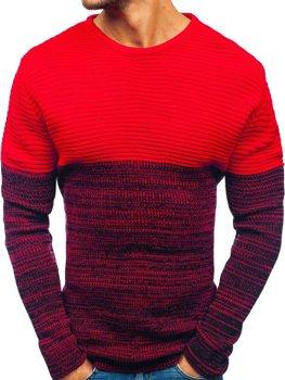 Červený pánsky sveter BOLF 164