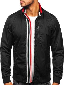 Čierna pánska prechodná bunda Bolf Bolf K01