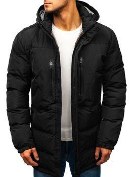 Čierna pánska zimná bunda Bolf 1669