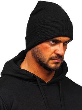 Čierna pánska zimná čiapka Bolf YW09004M