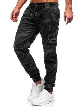 Čierne pánske kapsáčové joggery Bolf CT6026S0
