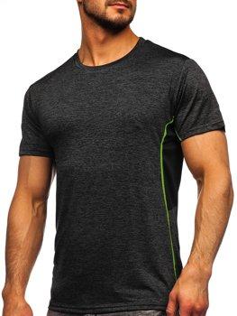 Čierne pánske tréningové tričko Bolf HM073