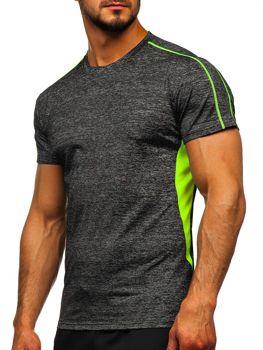 Čierne pánske tréningové tričko Bolf KS2100