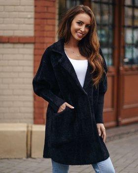 Čierny dámsky plášť Bolf 7108