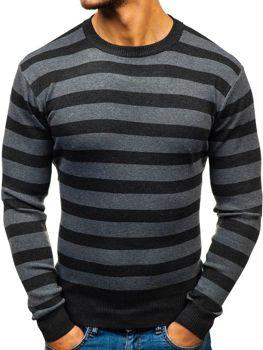 Čierny pánsky sveter BOLF BM6129