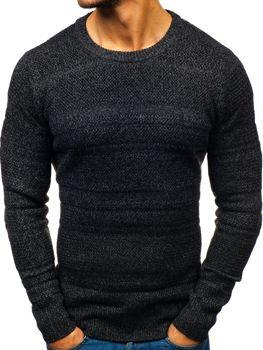 Čierny pánsky sveter BOLF H1805