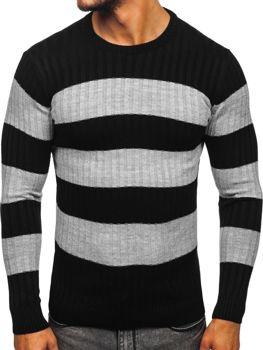 Čierny pánsky sveter Bolf 4516