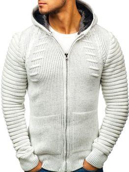 Ecru pánsky sveter BOLF 20005
