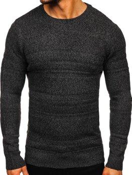 Grafitový pánsky sveter Bolf H1926