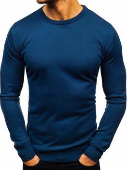 Indigo pánsky sveter BOLF 2300