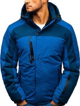 Modrá pánska lyžiarska zimná bunda BOLF HZ8112 44cfd36ff81