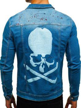 Modrá pánska riflová bunda BOLF 2052-1