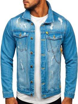 Modrá pánska rifľová bunda Bolf 3-4