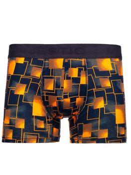 Oranžové pánske boxerky Bolf 1412