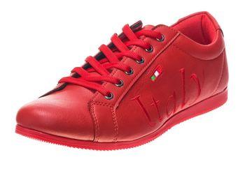 Pánske poltopánky Bolf 603S červené