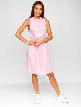 Ružové dámske šaty Bolf 9785