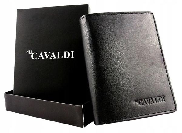 Čierna pánska kožená  peňaženka 613