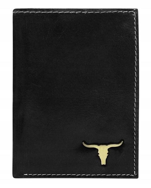 Čierna pánska kožená peňaženka 63