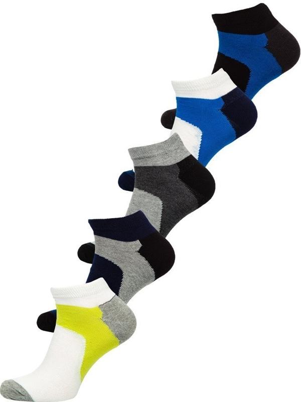 Farebné pánske ponožky BOLF X10059-5P 5 KS