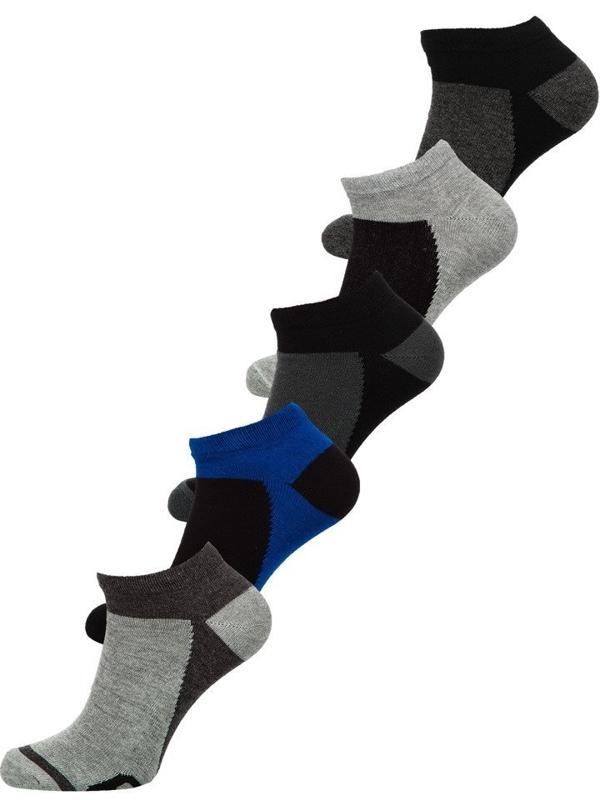 Farebné pánske ponožky BOLF X10083-5P 5 KS