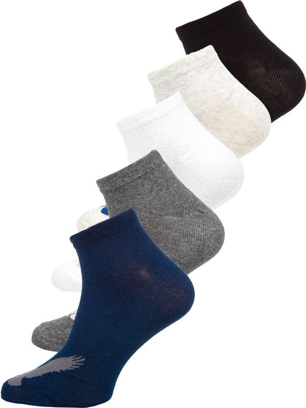 Farebné pánske ponožky Bolf  X10171-5P 5 PACK