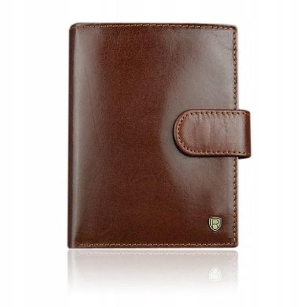 Hnedá pánska kožená peňaženka 925