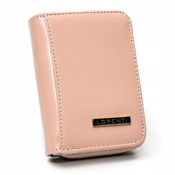 Lososová dámska kožená peňaženka 2863
