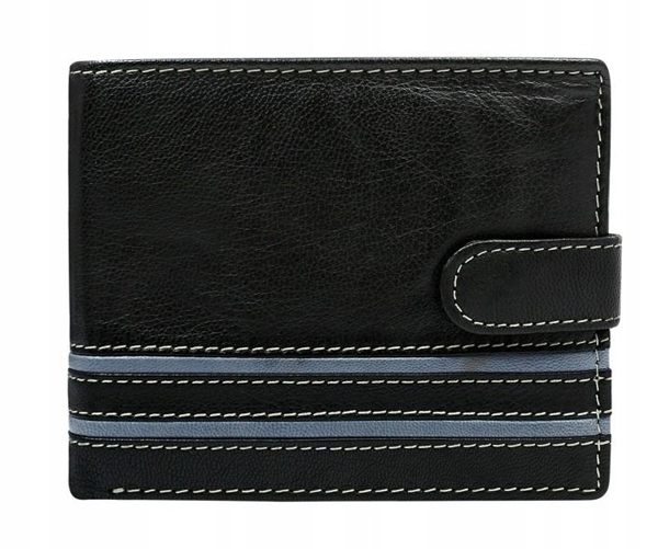 Šedá pánska kožená peňaženka 588