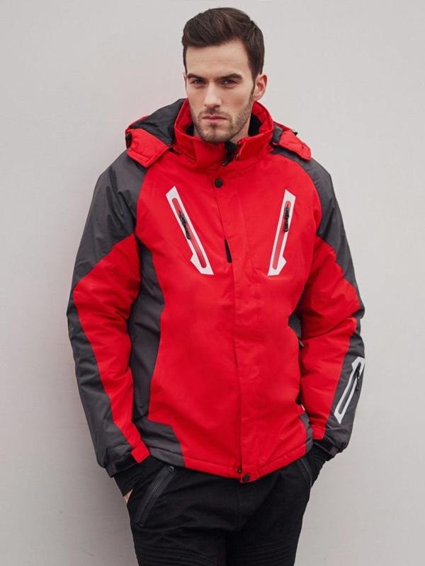 Štylizácia č. 405 - lyžiarska bunda, jogger nohavice