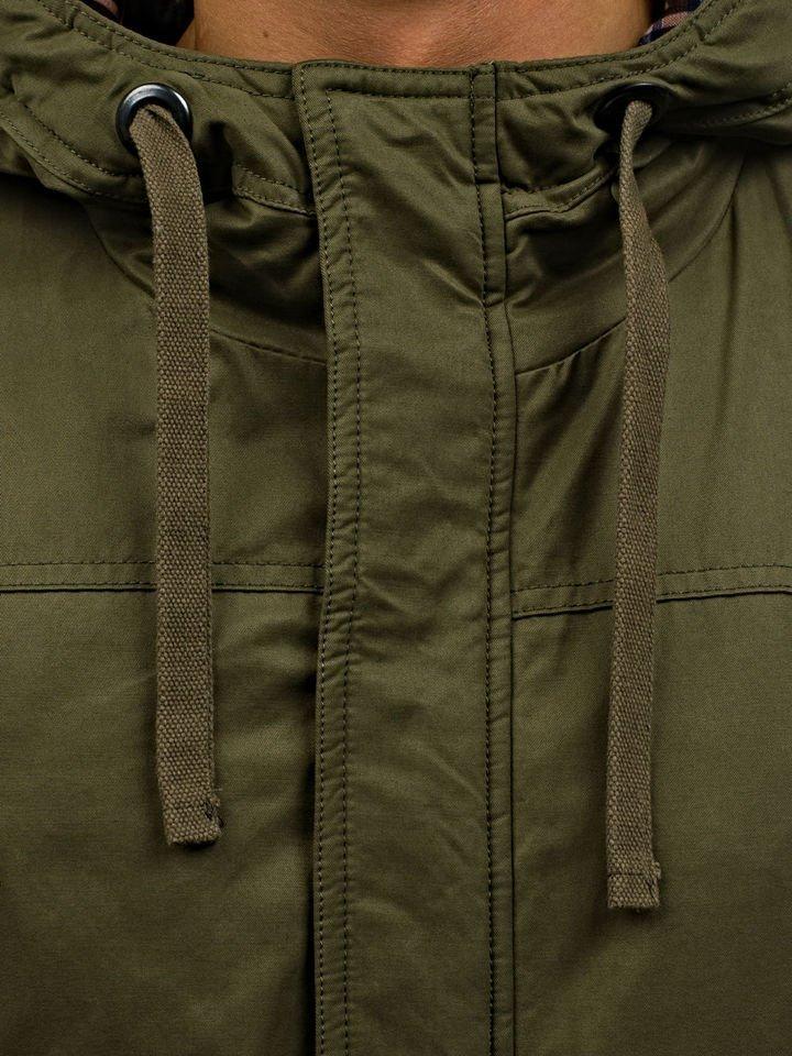 Zelená pánska zimná bunda BOLF 1790 faad9ae0dd4