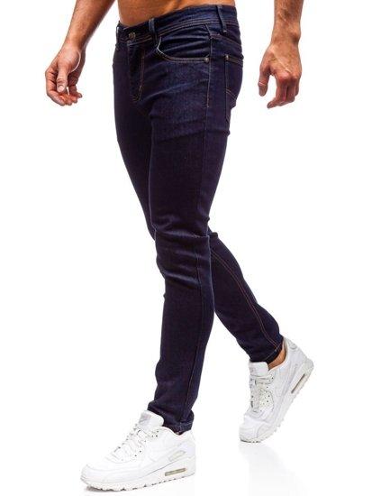 Atramentové pánske riflové jogger nohavice BOLF 61827