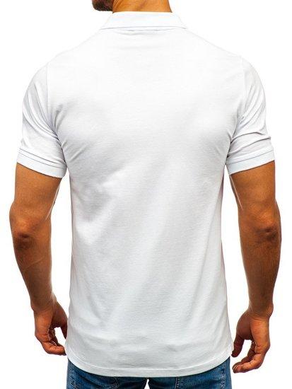 Biela pánska polokošeľa BOLF 9025