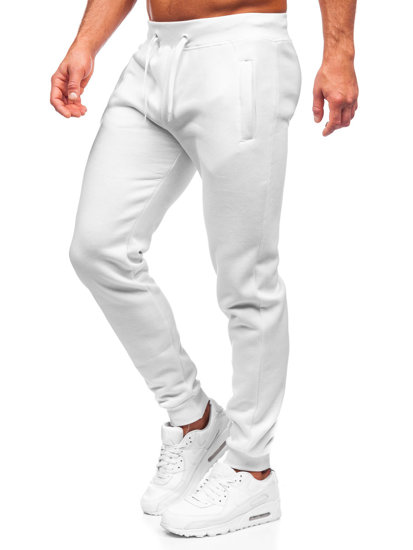 Biele pánske tepláky Bolf XW01-A