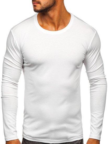 Biely pánsky nátelník bez potlače BOLF 2088L
