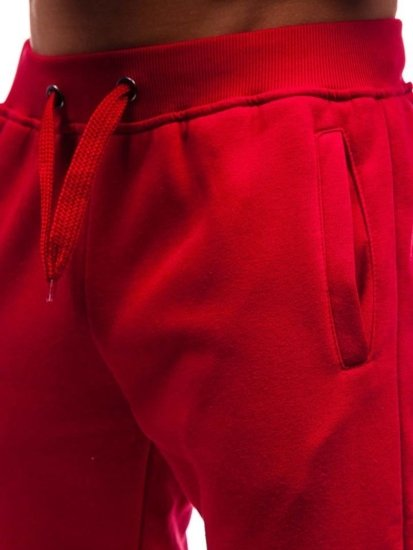 Bordové pánske tepláky Bolf XW01