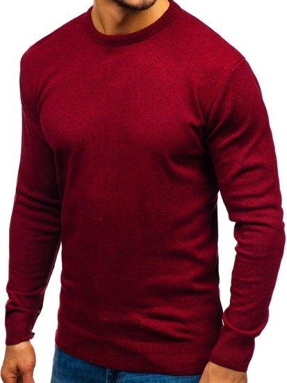 Bordový pánsky sveter BOLF 6001