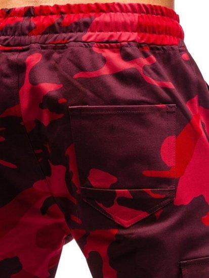 Červené pánske kapsáče BOLF 0857