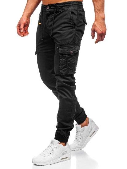 Čierne pánske kapsáčové joggery Bolf CT6703