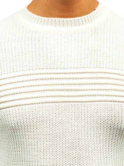 Ecru pánsky sveter BOLF 6004