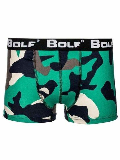 Farebné-2 pánske boxerky BOLF 0953-3P 3 KS