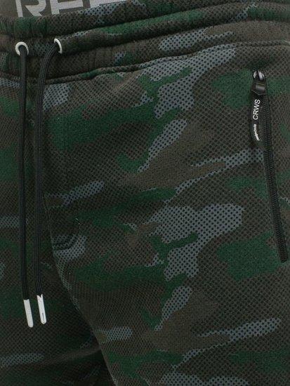 Farebné maskáčové pánske tepláky Bolf 3771D-A